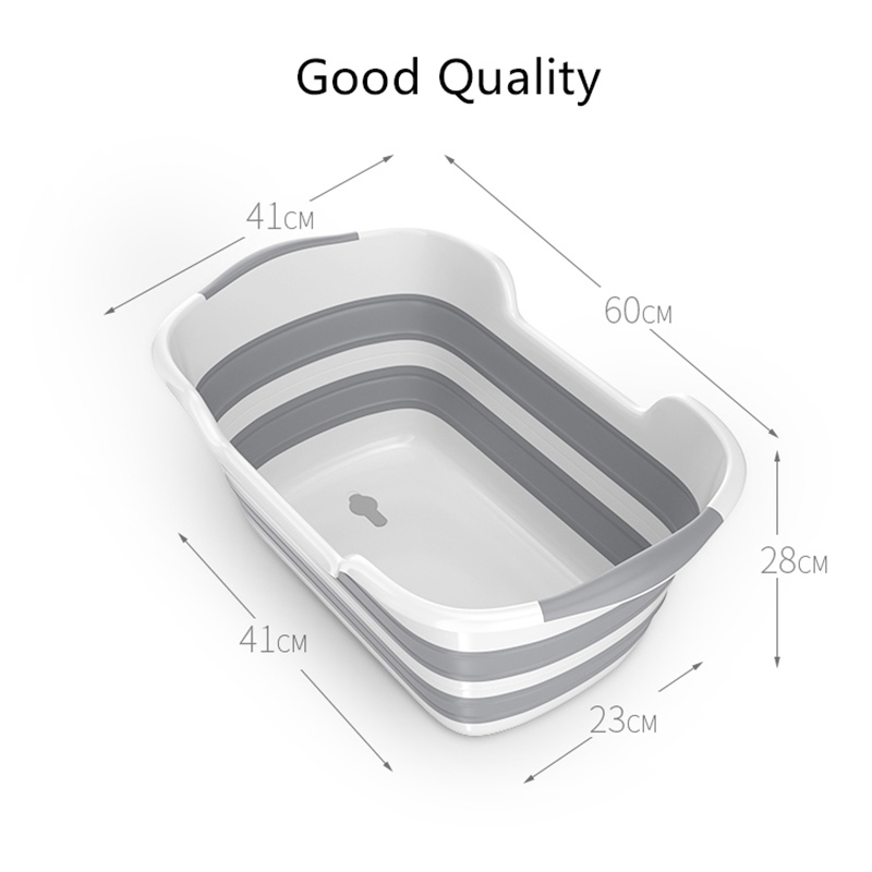 Good Quality Folding Baby Bath Tub Made Of PP And TRP Material For Safe Bath Of Children 4