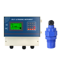 QDW70A 0 10 Meter Ultrasonic Anticorrosion Probe Liquid Measuring AC220V Ultrasonic Water Diesel Fuel Tank Level Sensor