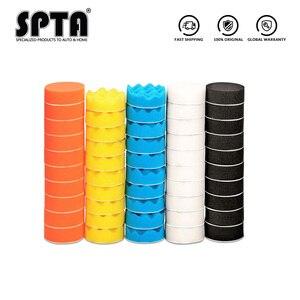 50 шт., губка для полировки полировальные накладки, 3