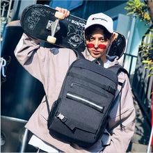 Рюкзак для скейтборда ноутбука с замком паролем защитой от кражи