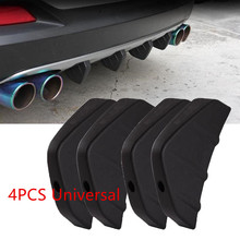 New Fashion Arrival Universal Car Rear Bumper Lip Diffuser Back Spoiler Splitter Car-Styling Accessories