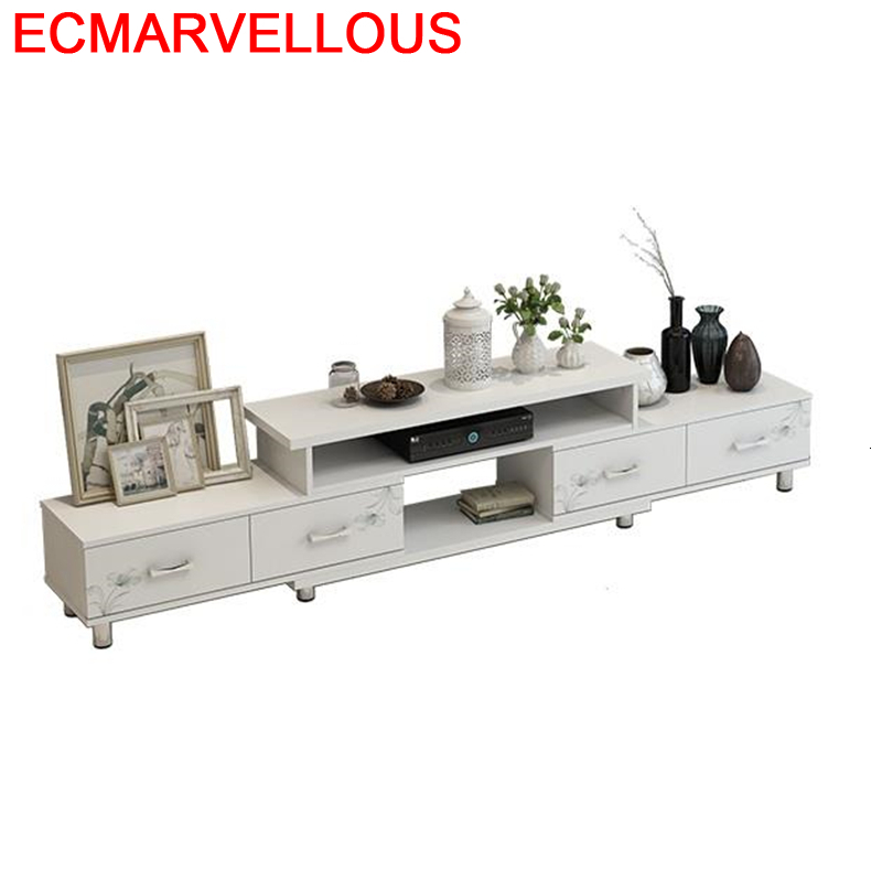 Center Unit Meubel Para Computer Monitor Meja Lift Flat Screen Wood Living Room Furniture Mueble Table Meuble Tv Cabinet