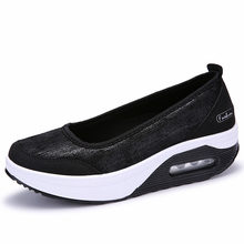 Women Flats Shoes Woman Loafers Sweet Shallow Comfortable Moccasins Slip-ons Platform Ballet Sneakers Ladies Mujer Pisos(China)