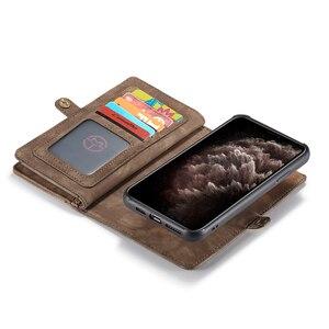 Image 4 - Custodia in pelle Vintage per iPhone 12 11 Pro Max X XR 6 6s 8 7 Plus custodia a portafoglio magnetica per iPhone SE 2020 XS Max Flip Case