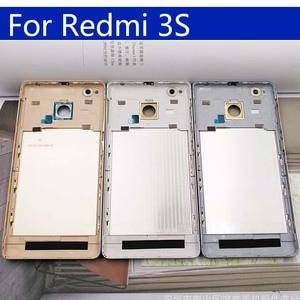 Image 3 - 3S סוללה חזרה כיסוי עבור Xiaomi Redmi 3 חזור סוללה דלת אחורי שיכון כיסוי עבור Redmi 3S מקרה מארז פגז החלפה