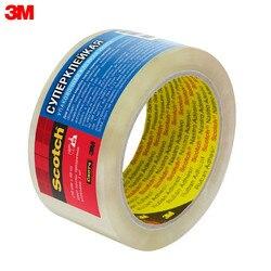 Cinta transparente 3M 3645 suministros para oficina y Escuela cintas adhesivas sujetadores cinta de embalaje clásico termofusible transparente marrón