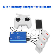 5in1 For XiaoMi Drone RC Quadcopter 4k Camera Drone Battery& Remote Controller Power Charger Hub for Xiaomi Mi Drone Accessories original battery for xiaomi mi drone 4k 1080p rc fpv quadcopter drone spare parts 17 4v 5100mah lipo battery accessories