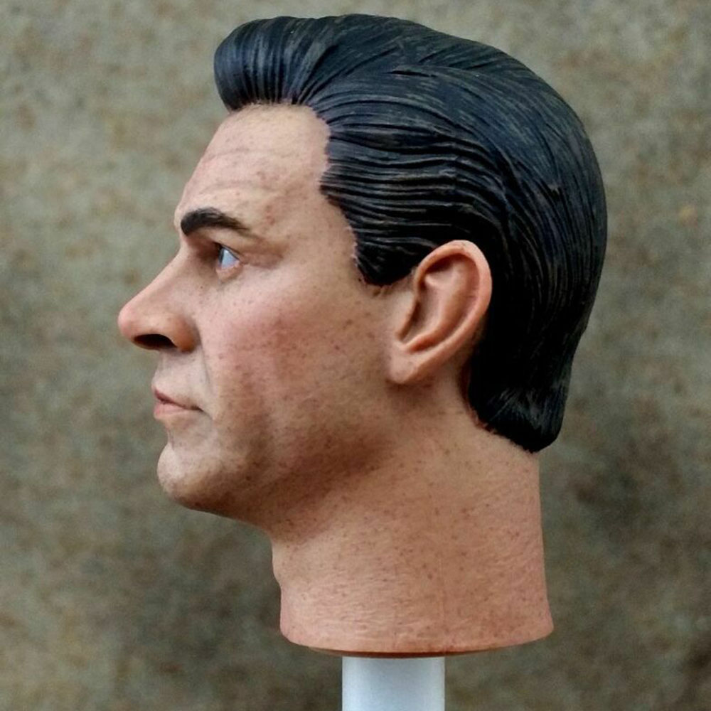 "007 James Bond Sean Connery Head Sculpt modèle échelle 1//6 fit 12/"" Action Figure"