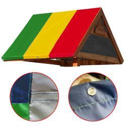 Wodoszczelny dach baldachim plac zabaw dla dzieci Tarp outdoorowa z daszkiem Tarp Cover Swingset Shade markiza Tarp wyposażenie ogrodnicze okładka