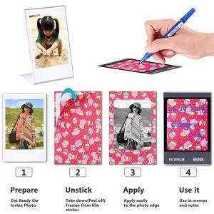 Image 5 - Fujifilm Instax מיני 9 8 7s מצלמה אביזרי מיני סרט אלבום תמונות קיר לתלות תמונה נייר מסגרות מדבקות סימן עט חבילות