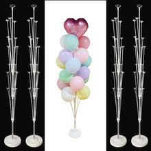 Decoração do casamento macaron balão suporte ballon coluna baloons guirlanda festa de aniversário decorações crianças globos acessórios