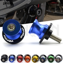 For YAMAHA YZF R6 M6 Motorcycle Accessories Swingarm Spools Slider arm Stand Screws YZF-R6 1999 2000 2001 2002 2003 - 2018