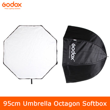 Godox 95cm 37.5in Portable Umbrella Octagon Softbox Flash Speedlight Speedlite Reflector Softbox with Carrying Bag