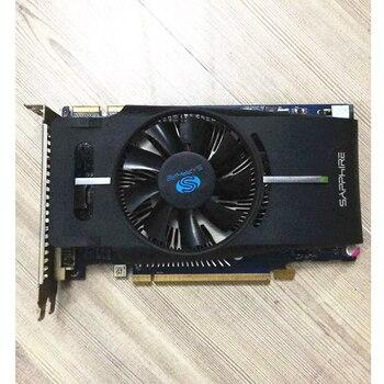 Original Saphir Radeon HD6770 1GB GDDR5 Cartes Graphiques GPU HD 6770 Cartes Vidéo Jeu D'ordinateur Pour Carte Vidéo AMD Carte HDMI PCI-E