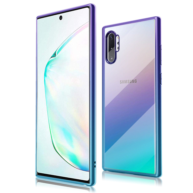 Clear Transparent Galaxy Note 10 Plus Cover 1