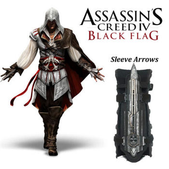 Модель игрушки Косплей Assassins Creed 4 Assassins Creed скрытое лезвие Реплика Brinquedos Эдвард Кенуэй Juguete Assasin's Creed Ezio