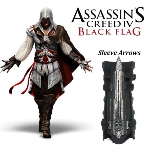 Assassins creed 4 black flag hidden blade cosplay Assassin/'s weapon sword tool
