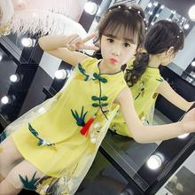 цена на Girls Dresses Summer Cute Girl Princess Clothing Children Dress Costume Baby Kids Girl Embroidery Dress for 6 8 10 12 14 years