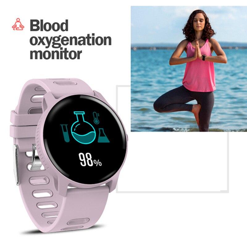 Image 2 - Смарт часы S08 для занятий спортом на открытом воздухе, фитнес трекер с несколькими видами спорта, пульсометр, IP68 Водонепроницаемые мужские Смарт часыСмарт-часы    АлиЭкспресс