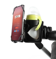 Подстаканник с подставкой для телефона на коляску #5