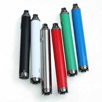 Batterie pour atomiseur de CIgarette électronique, Kit stylo réservoir, Vision II 2, tension Variable 1300mAh Ego Evod VV Twist Vape 510, 10 pièces