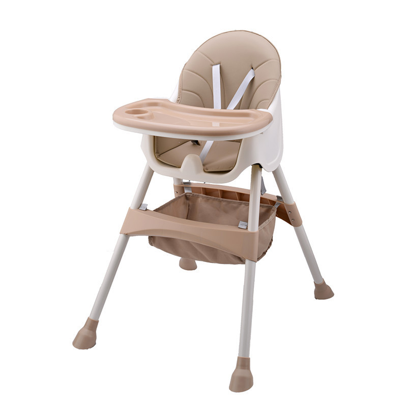 Manufacturers Direct Selling Children Dining Tables And Chairs Multi-functional Baby Folding Chair Adjustable Speed Infant Eatin