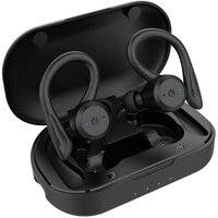 GDLYL-auriculares inalámbricos para natación, cascos deportivos impermeables con Bluetooth, estilo de doble uso, TWS, Ipx7, 20 horas de tiempo de reproducción, ESTÉREO