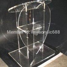 Популярная в форме сердца Красивая Современная дизайнерская дешевая прозрачная акриловая подставка