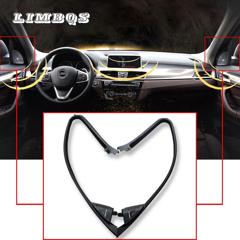 Yüksek kaliteli tweeter kapakları f30 BMW 3 serisi hoparlörler ses trompet kafa tiz hoparlör ABS malzeme tüm trim panel