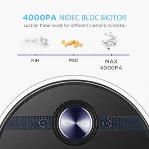 """От компании """"Midea"""" M7 робот-пылесос для дома 4000Pa всасывания уборку в автоматическом режиме зарядки Швабра пылесборник Smart планируется аспиратор"""