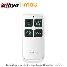 Controlador de interruptor de Control remoto inalámbrico inteligente Dahua imou de 433Mhz y 4 botones para sistema de alarma de seguridad inalámbrico para el hogar