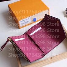 Роскошный брендовый женский кошелек, складной короткий кошелек, женский клатч, сумочка, маленький мини-кошелек, дизайнерская сумка для моне...