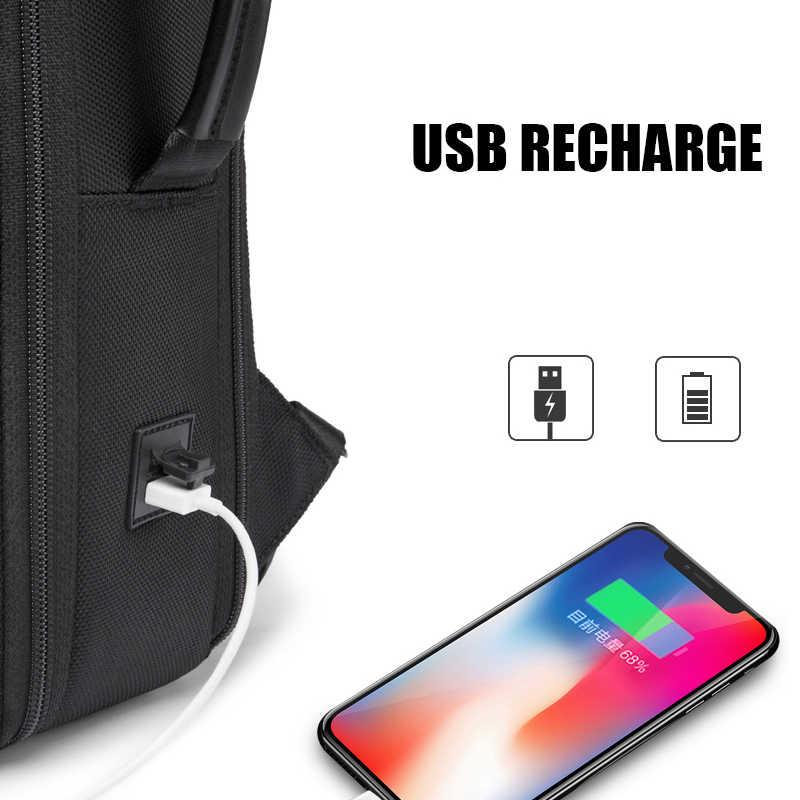 2020 New Men Anti theft Waterproof Laptop Backpack 15.6 Inch Daily Work Business Backpack School back pack mochila for women
