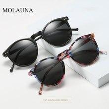 2019 Polarized Sunglasses Men Women Brand Designer Retro Round Sun Glasses Vinta