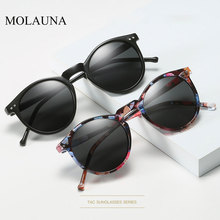 2019 Polarized Sunglasses Men Women Brand Designer Retro Round