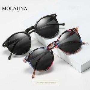 2020 Polarized Sunglasses Men Women Brand Designer Retro Round Sun Glasses Vintage Male Female Goggles UV400 Oculos Gafas De Sol(China)