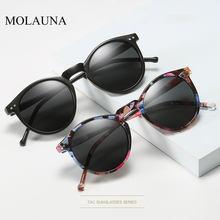 2021 polarizadas Gafas De Sol hombres mujeres De diseñador De marca Retro Sol redondo Gafas Vintage hombre mujer Gafas De Sol De UV400