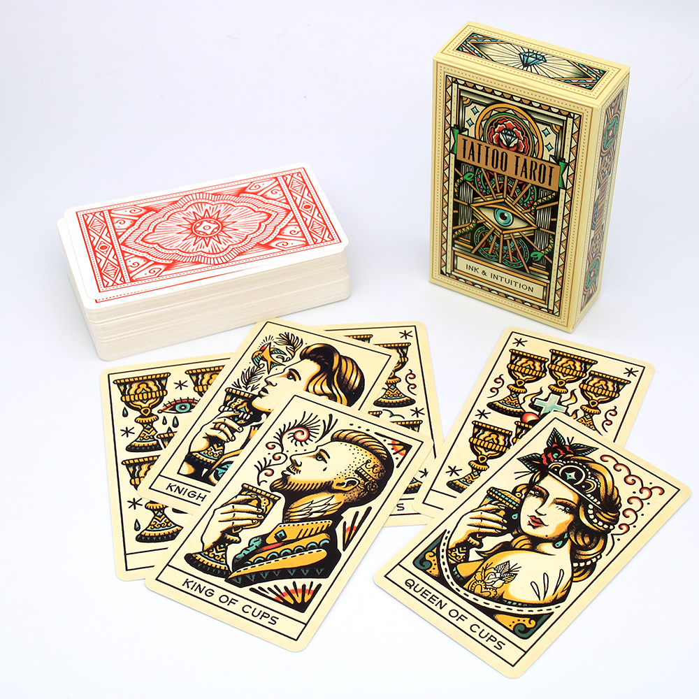 Tattoo Tarot: Ink & Intuition Cards Gaining A Fascinating Insight Into What Lies Ahead And A Fresh Perspective