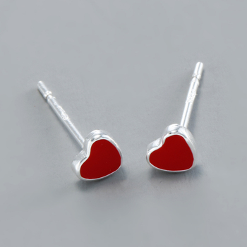 REETI 925 Sterling Silver Red H Stud Earrings For Women 2018 New Trend Personality Lady Fashion.jpg 350x350 - REETI 925 Sterling Silver Red H  Stud Earrings For Women 2018 New Trend Personality Lady Fashion Jewelry
