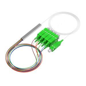 Image 2 - 10 Stks/partij Mini Splitter 1X16 1X8 1X4 1X2 Sm Sc Apc Plc fiber Splitter Pigtail Optic Splitter
