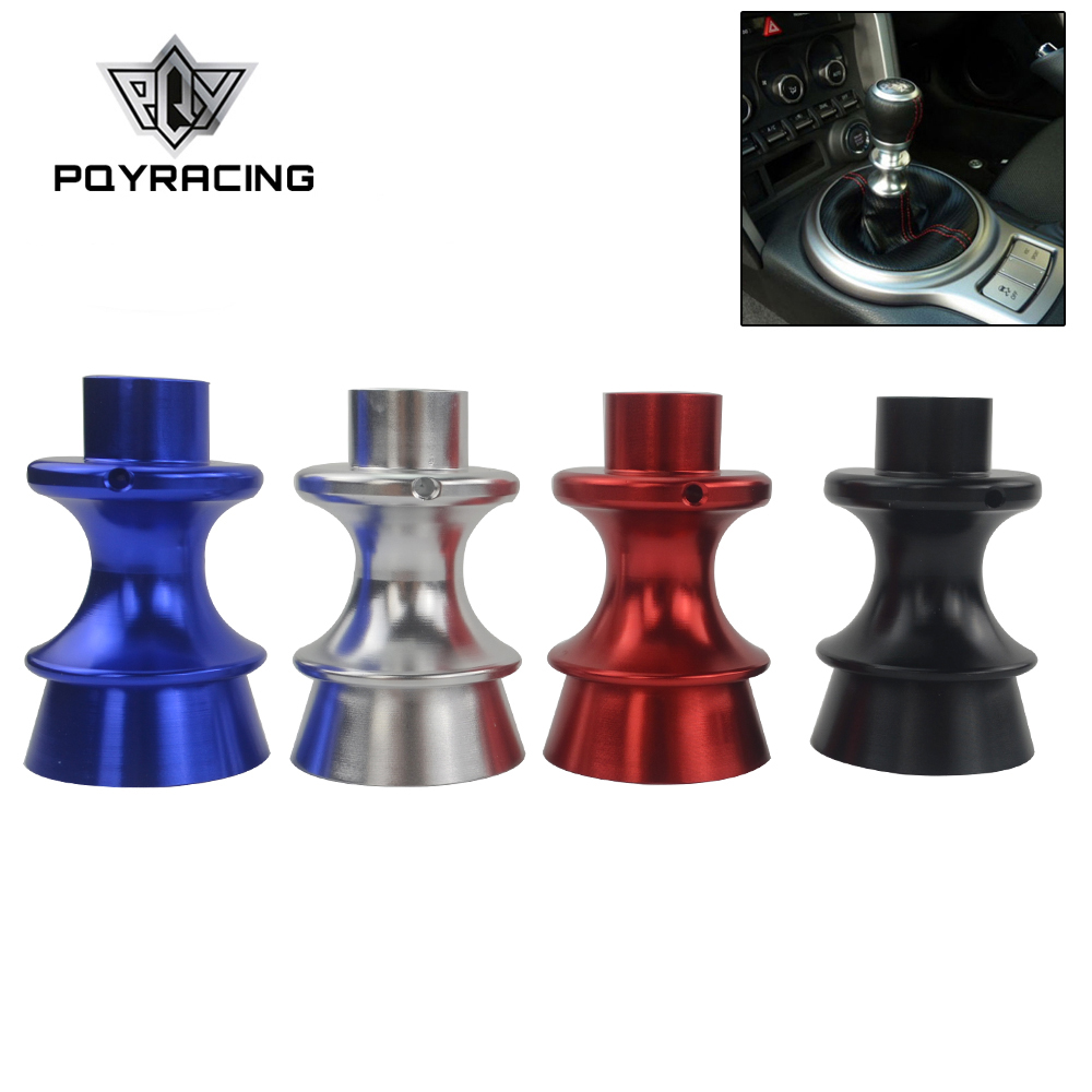 PQY - New Car Styling Gear Shift Knob Reverse Lifter Up For Subaru BRZ Toyota FT86 GT86 Silver,Red,Black,Blue PQY-SKA92(China)