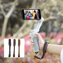 스트랩 매는 밧줄 DJI OM 4 OSMO 모바일 3 2 Zhiyun 부드러운 4 Feiyun 핸드 헬드 짐벌 안정제 홀더 보호대 마운트
