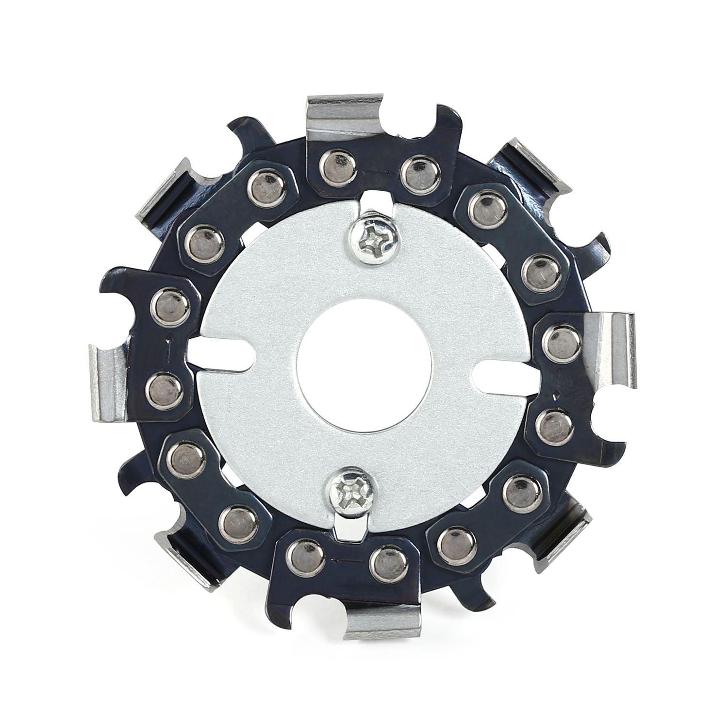 2.5 Inch Woodworking Saw 16mm Angle Grinder Chain Wood Carving Disk Grinder Disc Blade Cutting Blade Slotted  8 Teeth Saw Blade