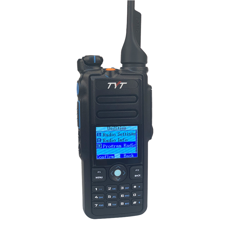TYT MD-2017 vhf uhf dual band dmr digital portable two way radio IP67Waterproof walkie talkie dmr