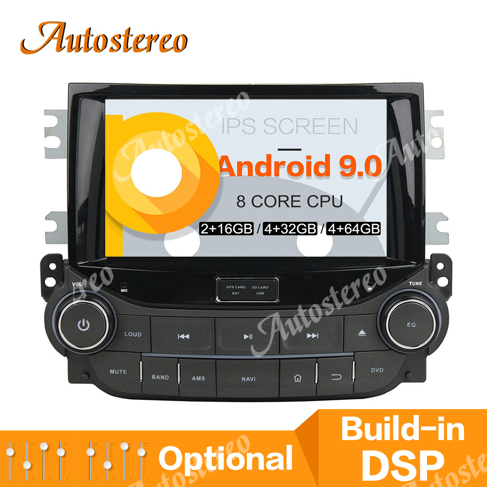 PX5/PX6 DSP Android 9 Car CD DVD Player Head Unit GPS Navigation For CHEVROLET MALIBU 2013 2014 2015 Multimedia Player Radio 64G image