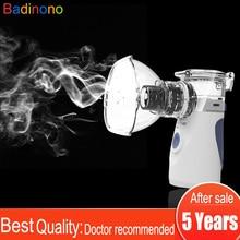 แบบพกพา Mini Nebulizer Vaporizers Cool Mist Handheld ไอน้ำคอมเพรสเซอร์เครื่องสำหรับผู้ใหญ่เด็ก