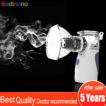 Portable Mini Nebulizer Vaporizers Cool Mist Handheld Travel Steam Compressor Machine Humidifier for Adults & Kids