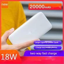 Charger Power-Bank External-Battery-Charger iPhone Xiaomi Portable 20000mah for 12 10-9