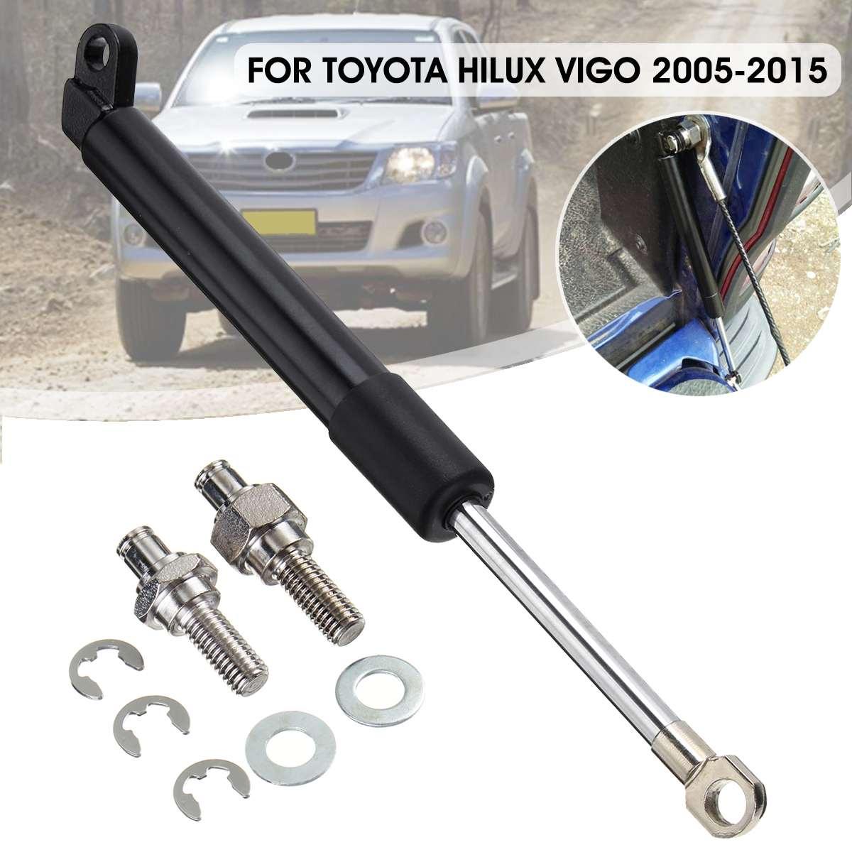 1 ชุดด้านหลัง TAIL Lift รองรับแก๊ส Strut Rod ARM Shocks Strut บาร์ Damper สำหรับ Toyota HILUX Vigo SR5 GGN15R KUN26R 2005-2015
