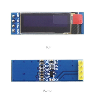 Free Shipping 10pcs/lot  0.91 Inch OLED Module 0.91
